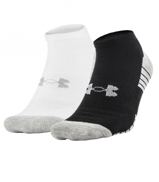 under-armour-Black-WhiteAsst-Heatgear-No-Show-Socks-2-Pack
