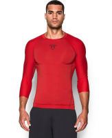 under-armour-red-mens-ua-zonal-compression-34-sleeve